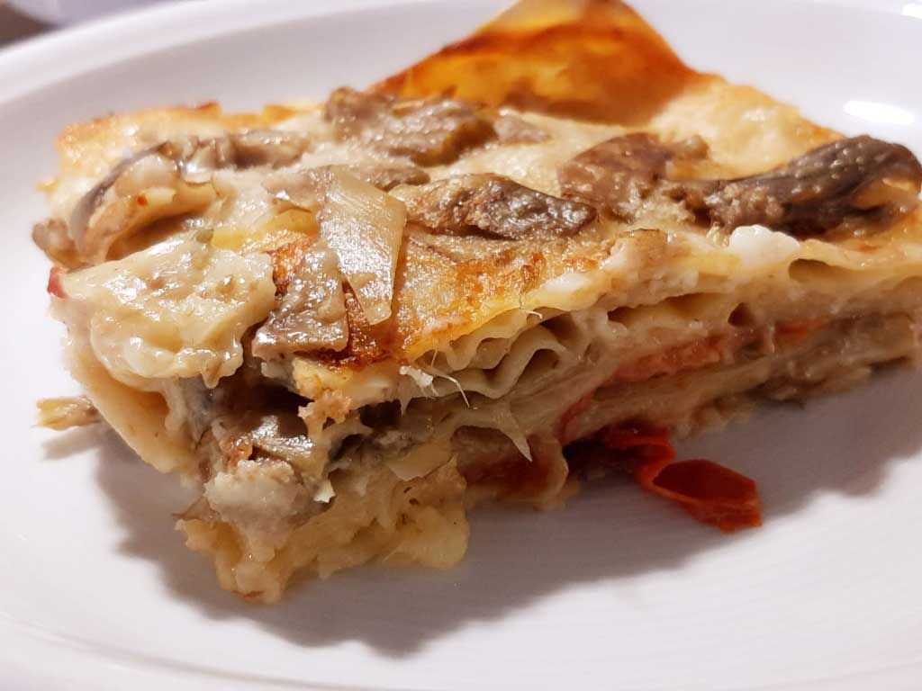 Lasagne Carciofi e Pomodorini