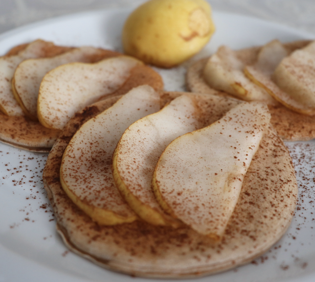 Pancake Pere e Cioccolato