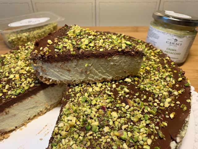 Cheesecake Pistacchio e Cioccolato