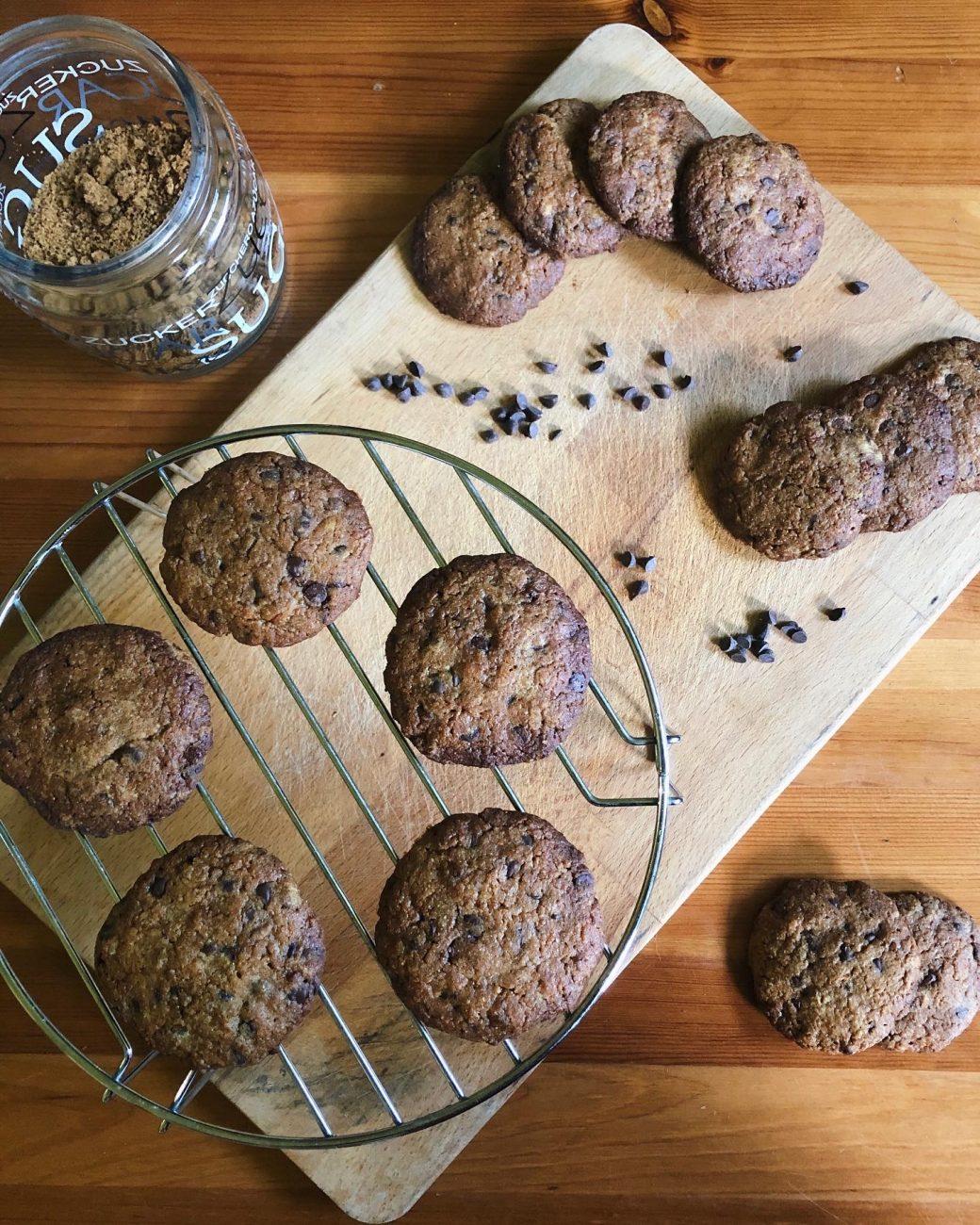 Cookies Gocce di Cioccolato Senza Glutine