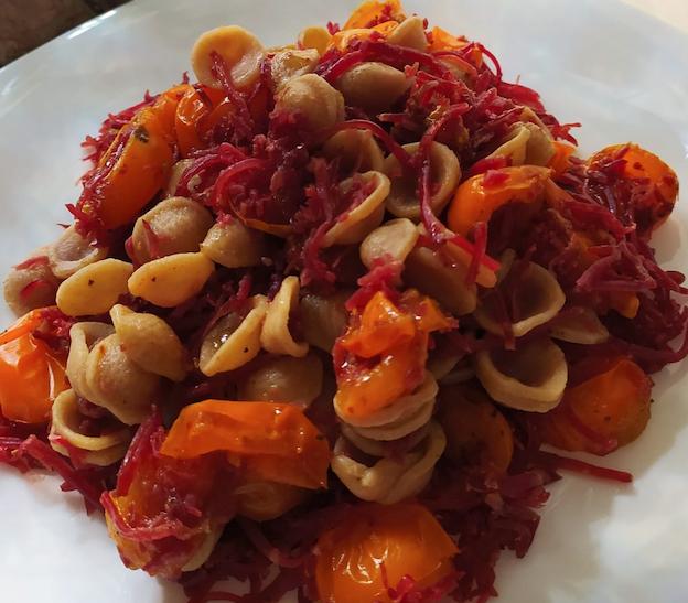 Pasta Integrale Bresaola e Pomodorini