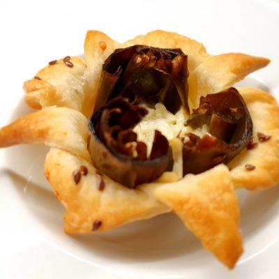 Carciofi con formaggio e semi di lino