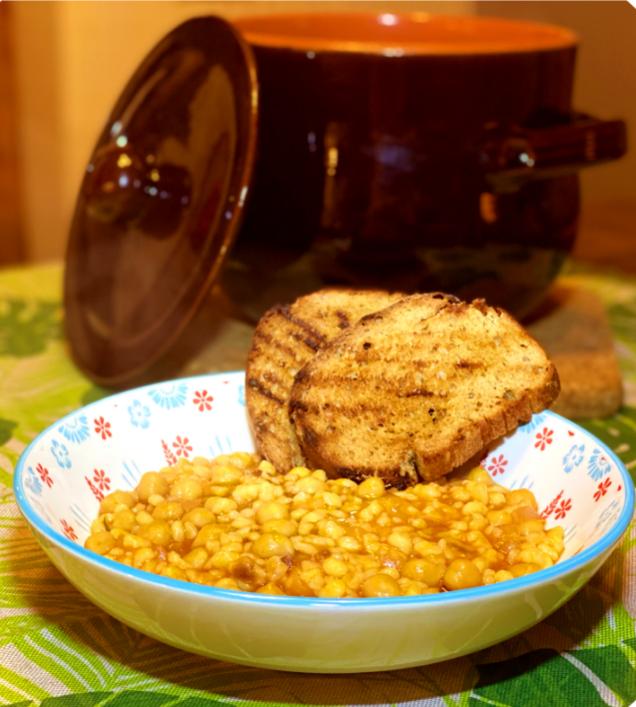 Zuppa di Ceci e Fregola