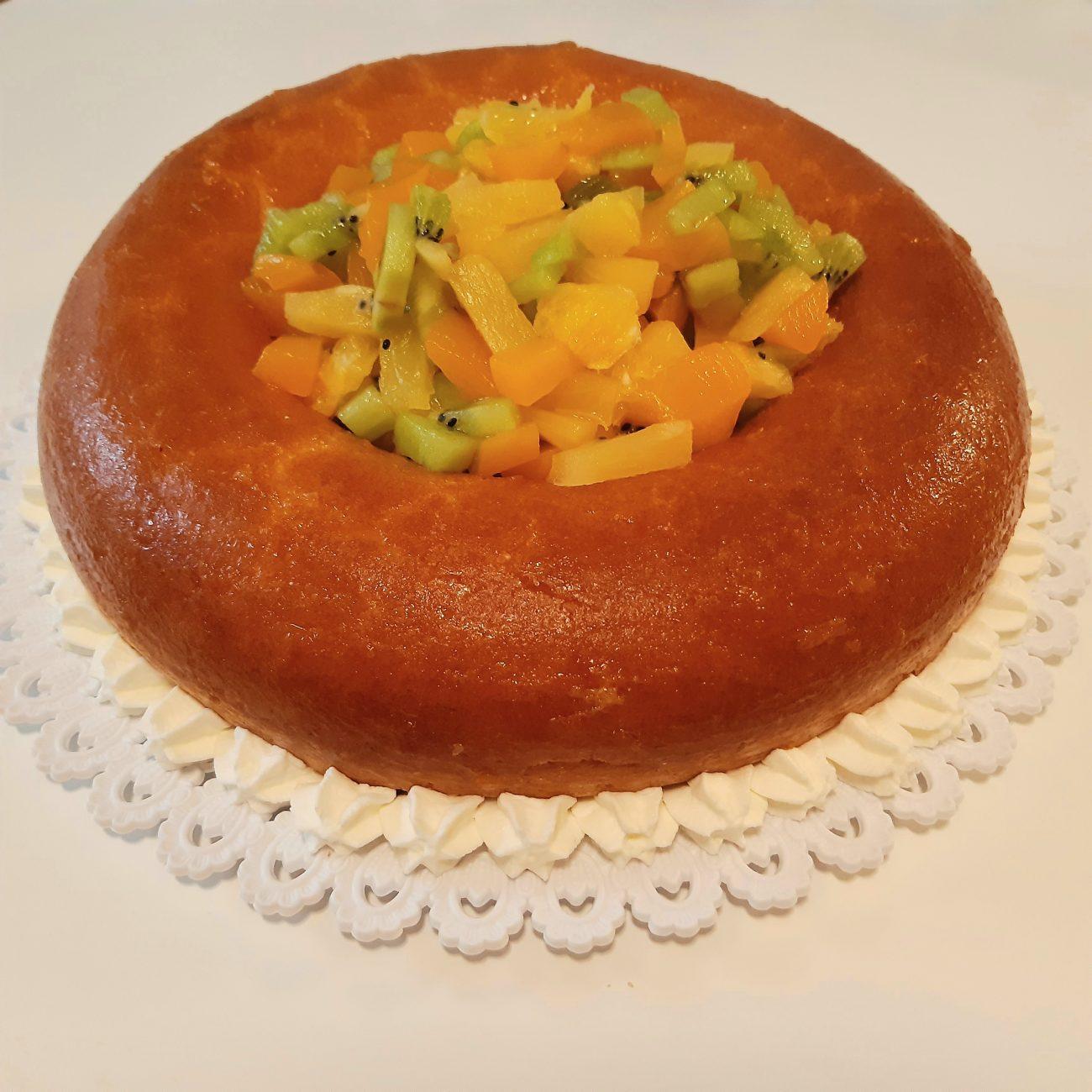 Ricetta Torta Savarin