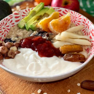 Ricetta Porridge Vegano