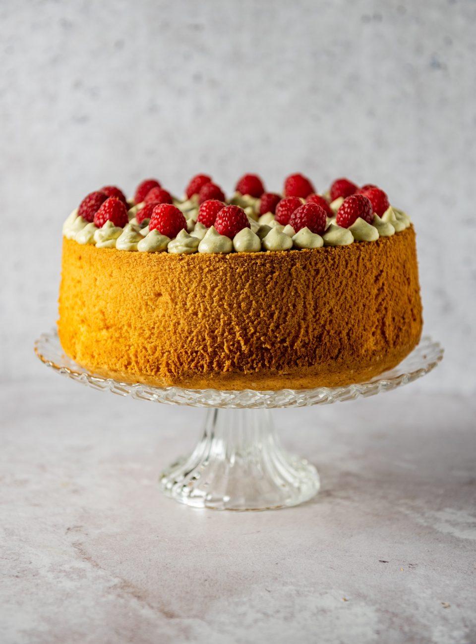 Chiffon Cake Al Limone e Pistacchio