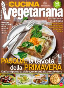Copertina rivista La mia cucina vegetariana
