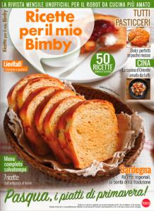 Copertina rivista Ricette per il mio Bimby