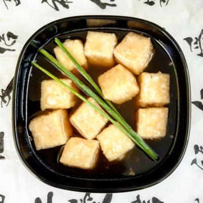 Tofu Fritto o Agedashi Dofu