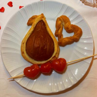 Pere Salate con Erborino Vegano