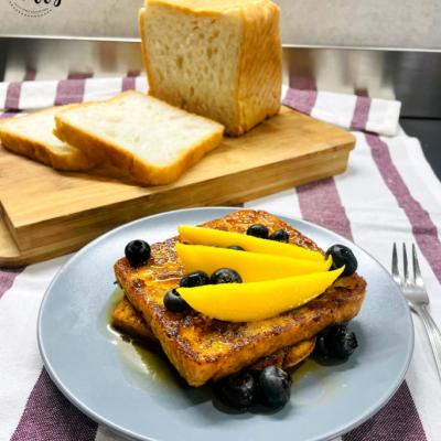 Ricetta French Toast con mirtilli