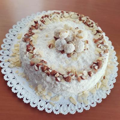 Torta Cocco e Mandorle