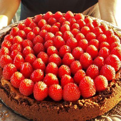 Cheesecake Bicolor Ai Lamponi