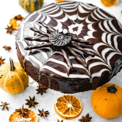 Torta Halloween Al Cioccolato